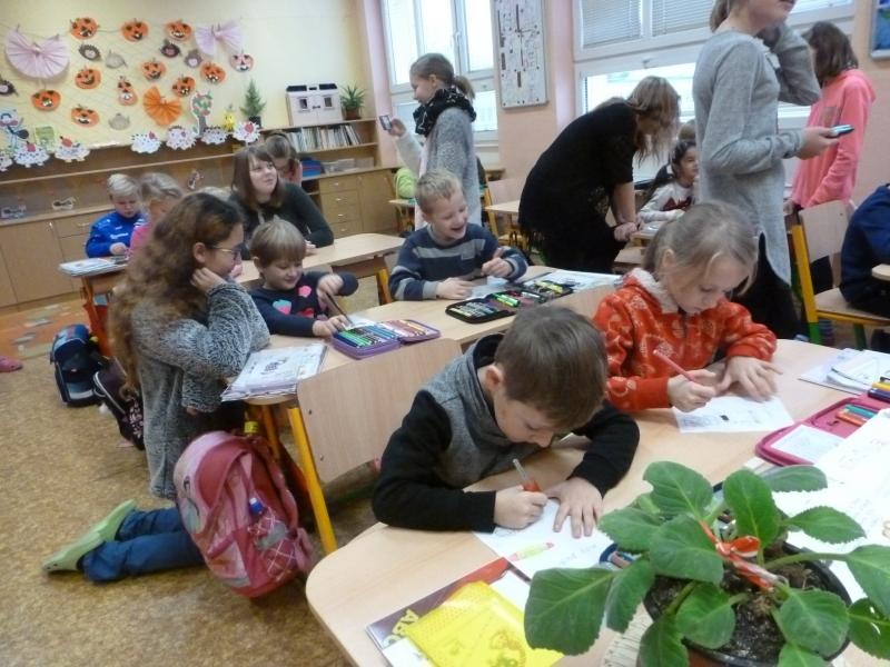 Akce školního parlamentu – Psaní Ježíškovi