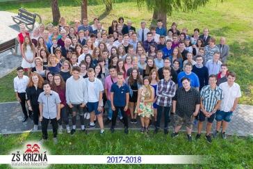 Fotografie z konce školního roku 2017/2018
