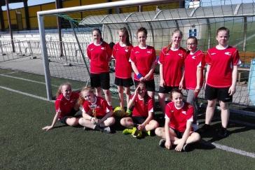 Minifotbal dívek - okresní kolo