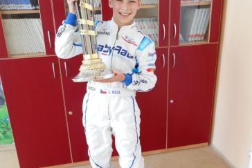 Jindra Pešl - 1. místo WSK Euro Series