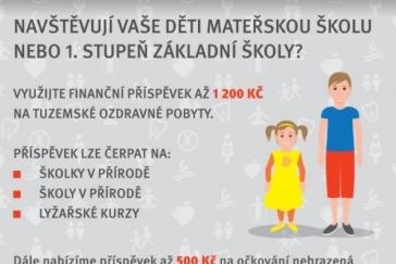 Finanční příspěvek VZP